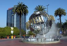 Universal Studios Hollywood theme parks in california