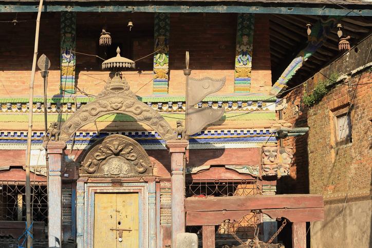 Bindebashini temple. Bandipur in Nepal