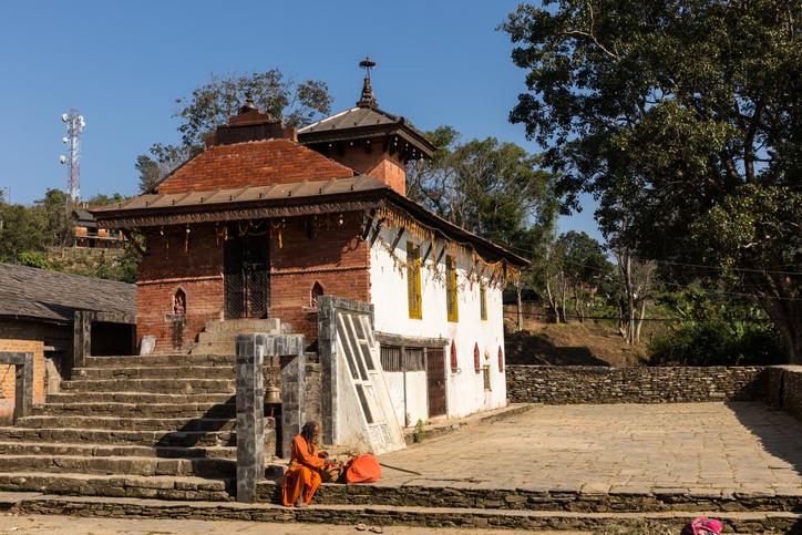 Khadga Devi Temple Bandipur in Nepal