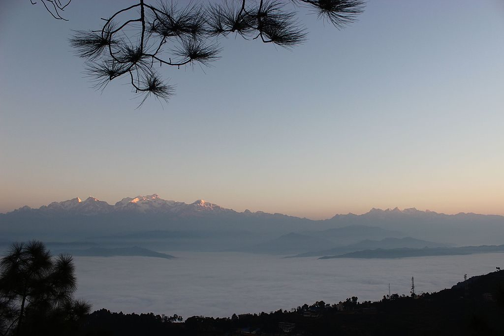 Mountain view from Bandipur, Nepal