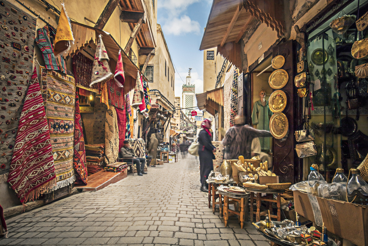 Streets of Fez, Morocco travel tips