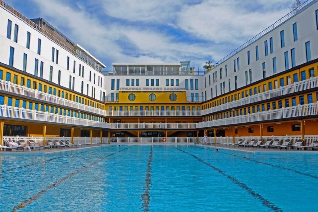Piscine Molitor swimming pool Paris