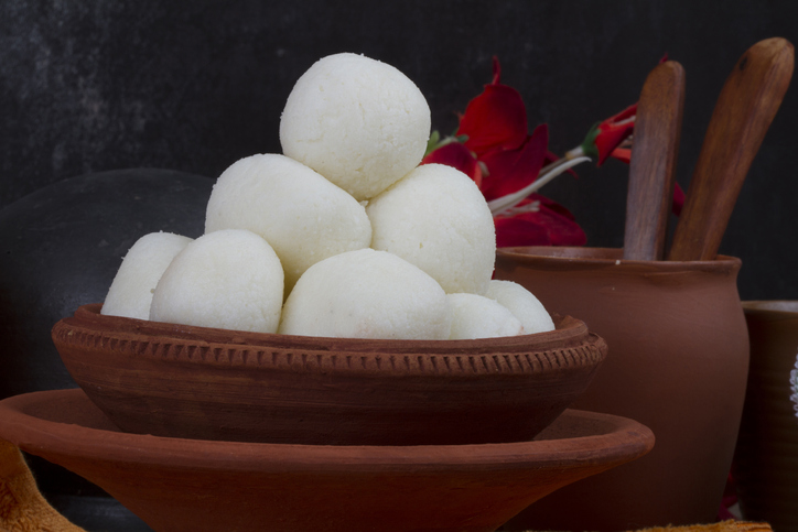 Indian traditional sweet food Rasgulla