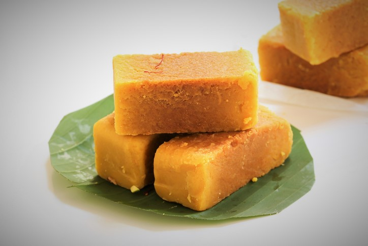Mysore Pak indian festival sweets