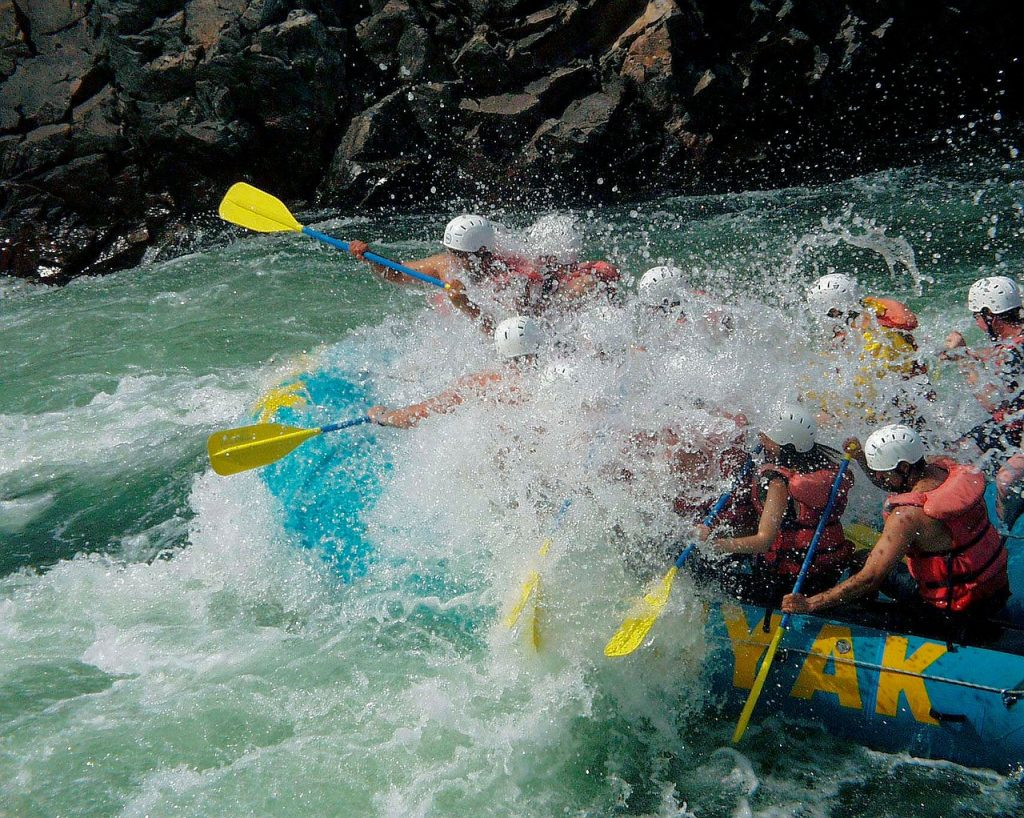 river rafting is one of the things to do in Chikmagalur