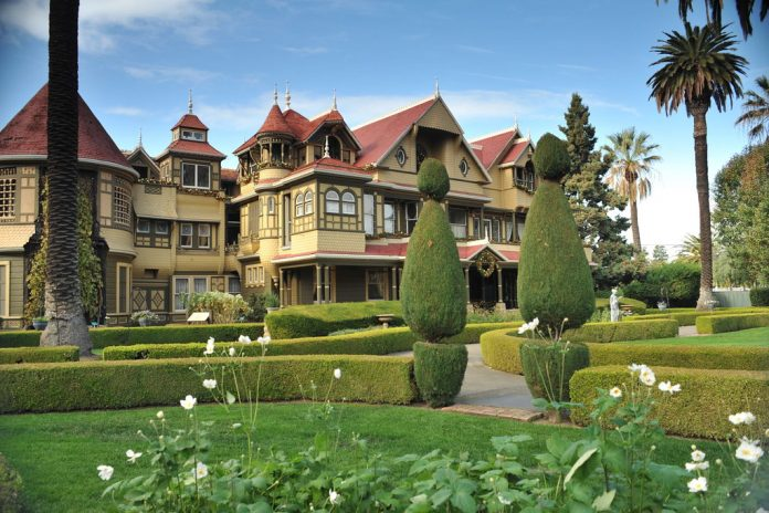 The Winchester Mystery House, San Jose.