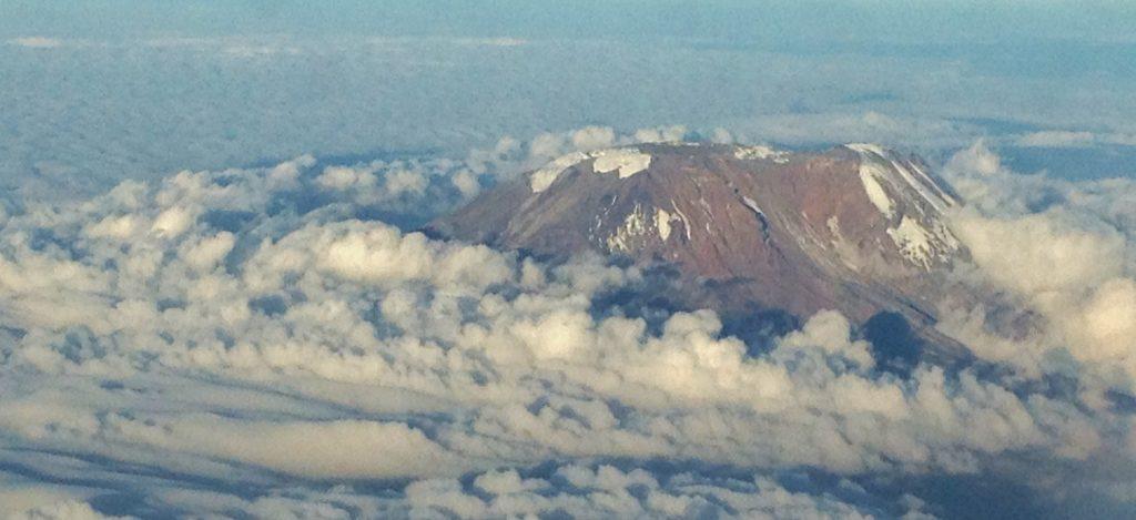 Panoramic view of Kilimanjaro mountain