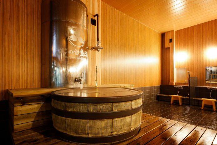 hinotani spa japan beer spas