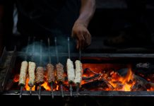 chicken Seekh Kebab during Ramzan, Bakra Eid Delicacies