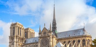 Notre Dame de Paris cathedral, France, Churches