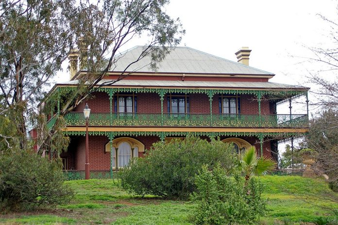 Monte Cristo Homestead in Junee, New South Wales.