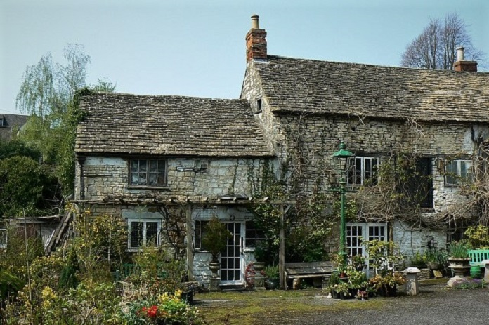 Ancient Ram Inn, England, most haunted places in the world