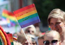 pride parade of the LGBTQIA+ Community