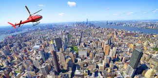Uber helicopter new york city