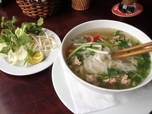 healthiest cuisines, Noodle Dishes