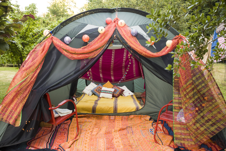 glamping in India