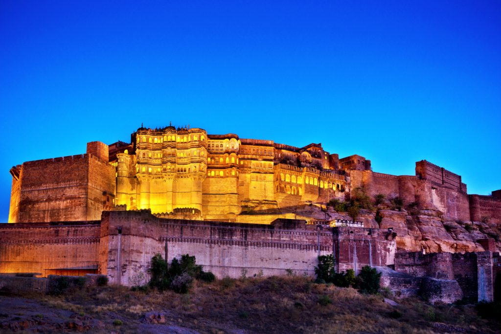 Mehrangarh Fort, one of the biggest forts in India
