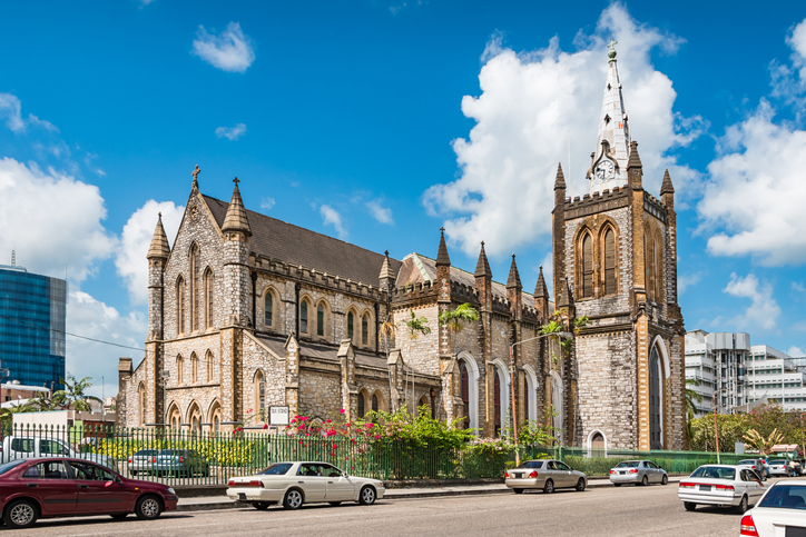 Holy Trinity Cathedral in Port of Spain Trinidad and Tobago