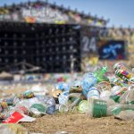 Huge Amounts of Plastic Waste Discarded at Glastonbury Music Festival 2019