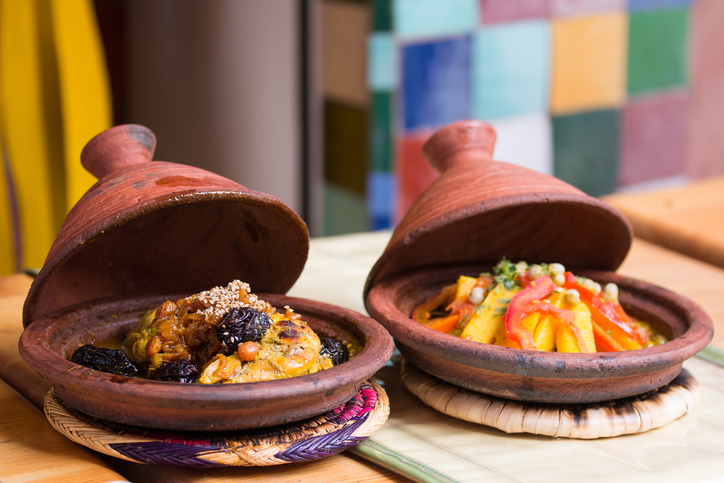 Morocco typical dish - moroccan dishes