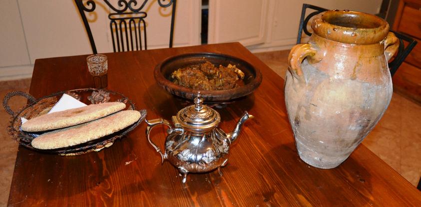 Tanjia ( not Tajine ) an excellent Maroccan dish.