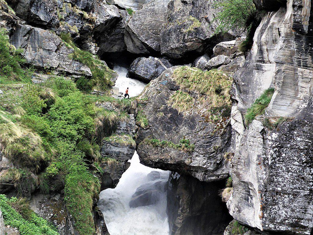 Bheem Pul Uttarakhand.Mana