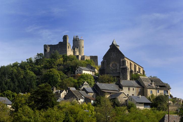 Najac ,Midi Pyrenees, France