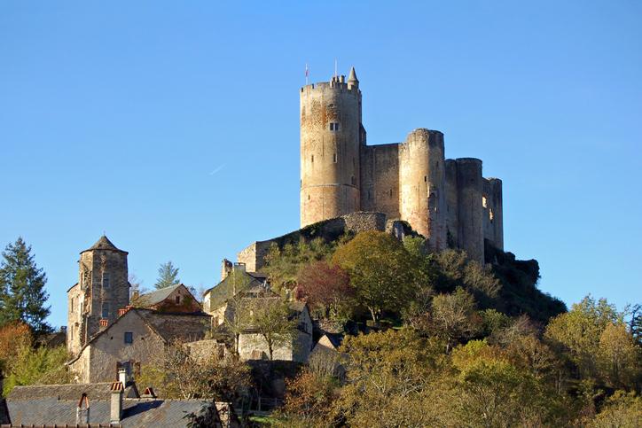 Medieval Castle, Najac, France