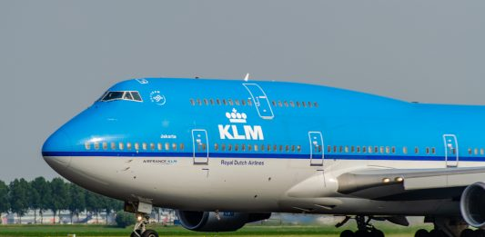 dutch airlines sustainability campaign