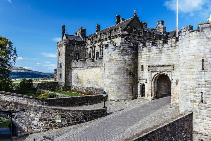 Stirling Castle, castles in Scotland