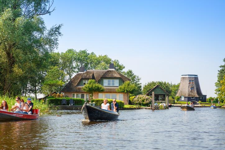 Giethoorn village in The Netherlands