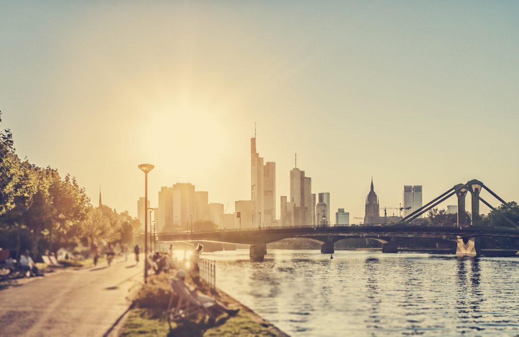 Hot summer day - Frankfurt am Main