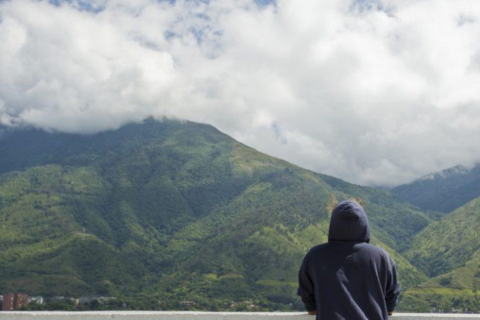 Watching the mountains, Caracas Venezuela