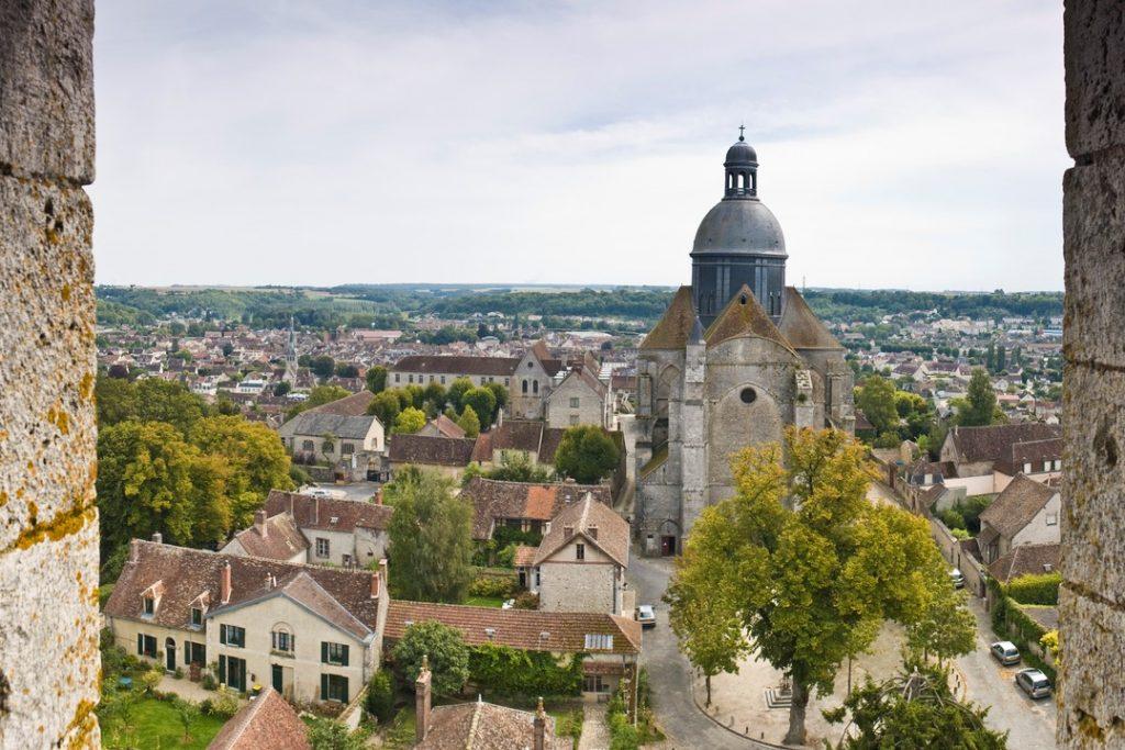 Provins Medieval old town, France