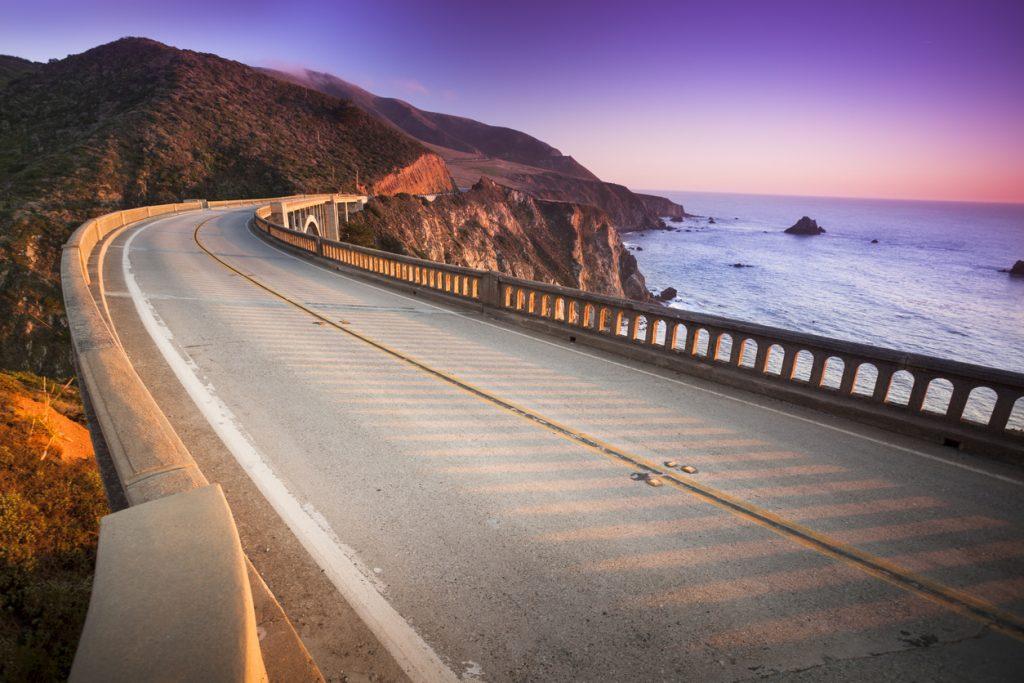 Bixby Bridge, Big Sur, Pacific Coast Highway, California, USA