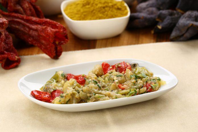 Eggplant, Salad, Appetizer, Breakfast, Dinner; Romanian dishes