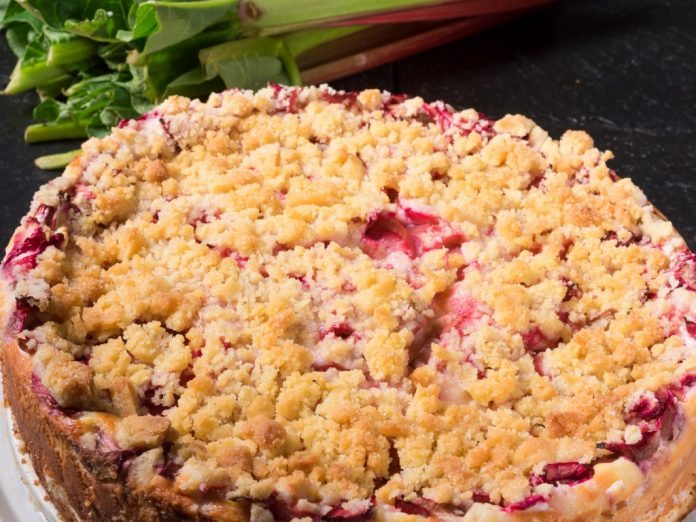 a-delicious-summery-rhubarb-cake-with-crumble icelandic dishes
