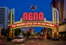 casino cities, Reno