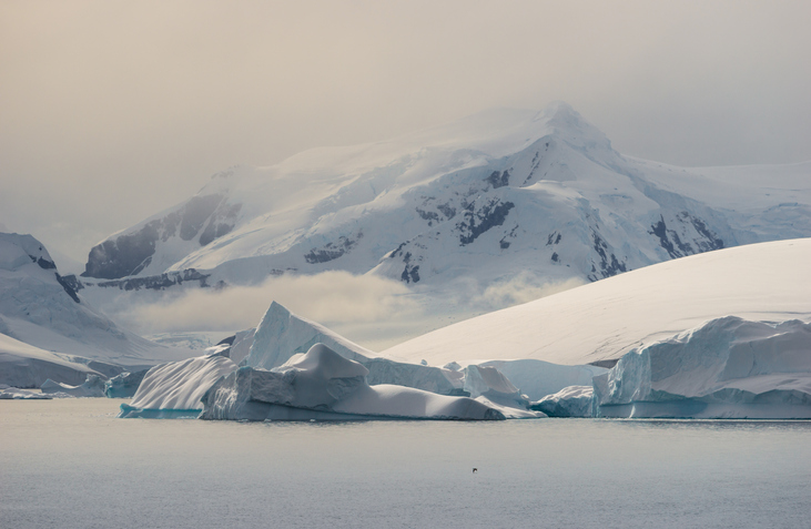 This photograph was taken in Gerlache Strait with full frame camera and G telephoto lens.