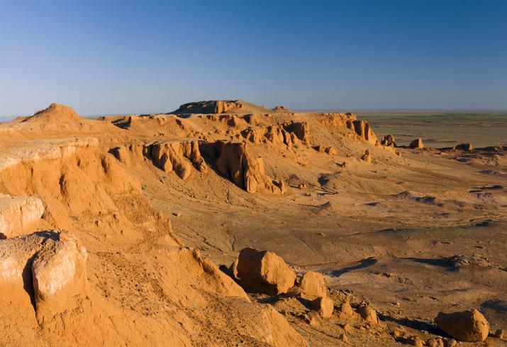 Canyon, Gobi Desert, Mongolia, Famous Deserts