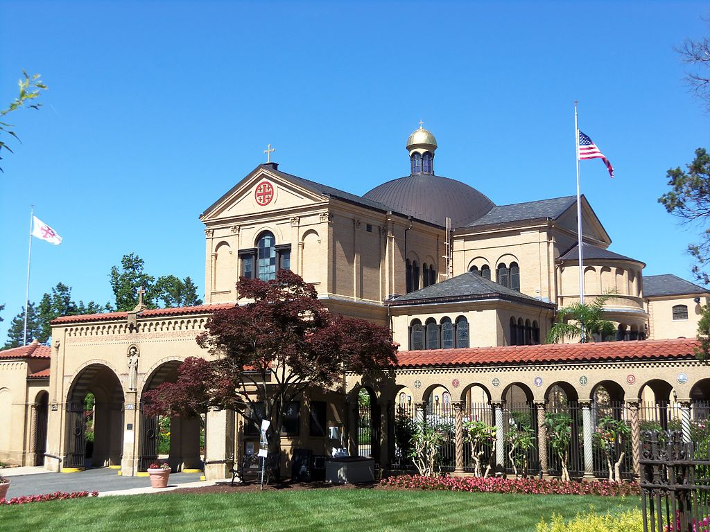 Franciscan Monastery and Memorial Church of the Holy Land in Washington, D.C. near the Brookland neighborhood
