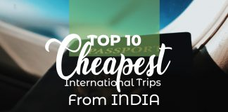 International Trips From India