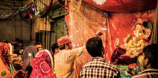 Ganesh Chaturthi in Udaipur India