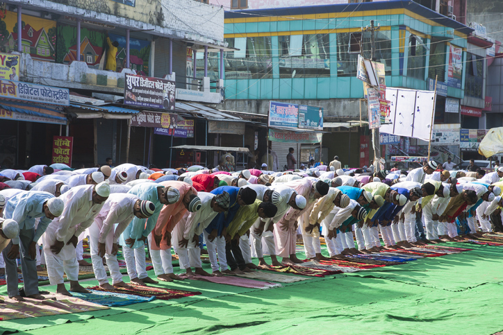 Large group of people praying Namaz on Eid-al-adha, Upcoming Indian Festivals In 2020