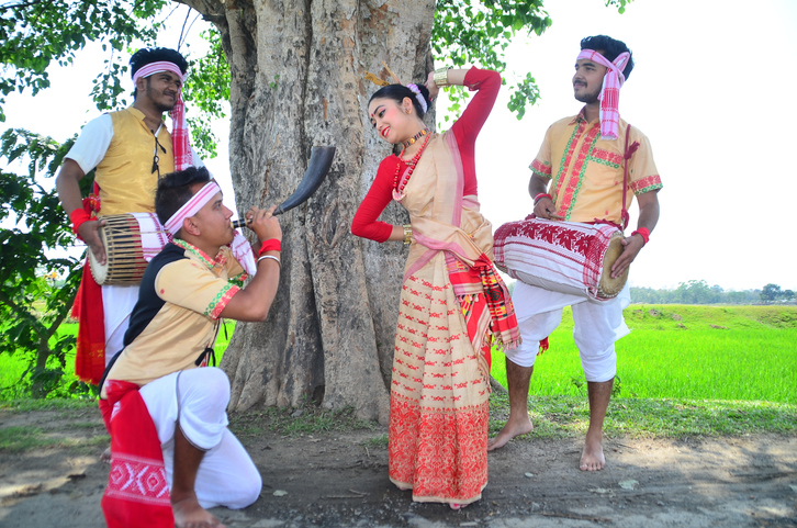 Bihu in Assam one of the states in north east India