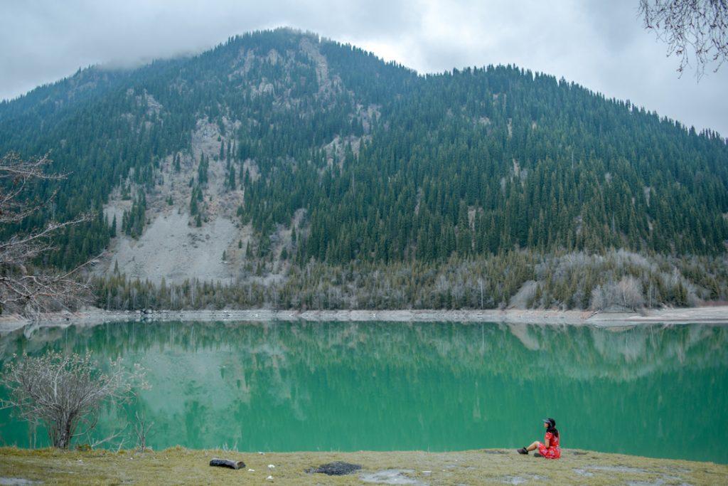 Esik Lake kazakhastan