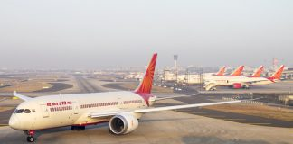 air travel, air india