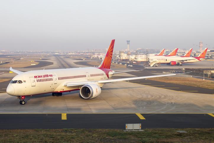 air travel, air india