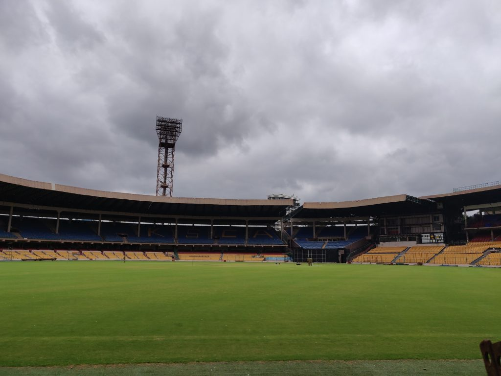 Chinnaswamy Stadium Day Out In Bangalore