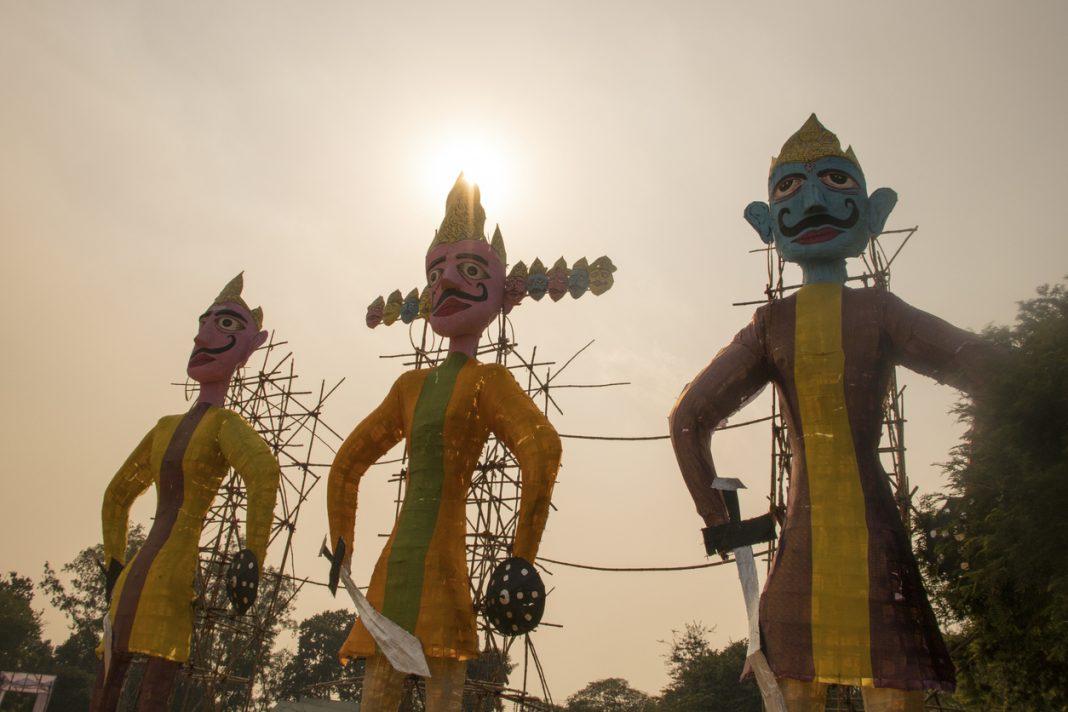 dussehra festival celebration in india